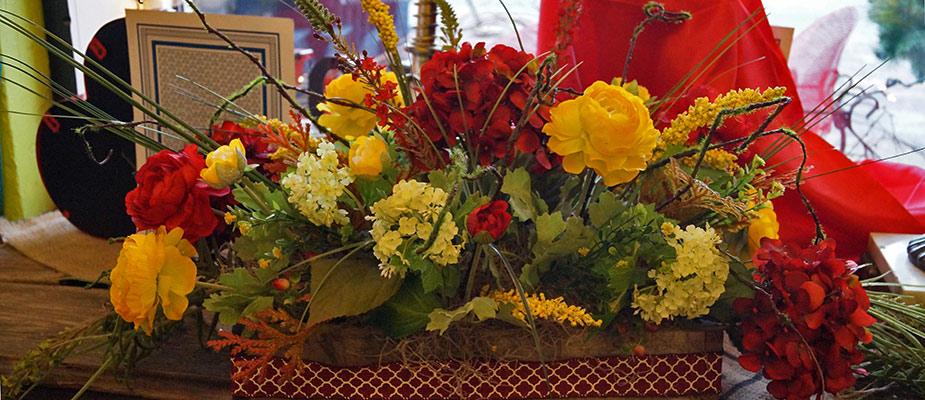 Aprils Flowers On Main Florist Silk Flower Arrangements